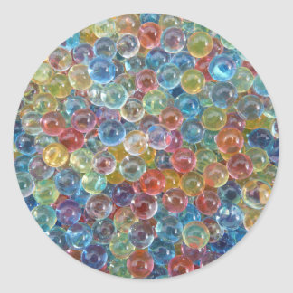 colored glass beads stickers