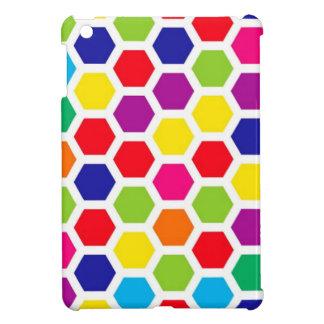 Colored Honeycomb iPad Mini Covers
