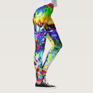Colored ice leggings