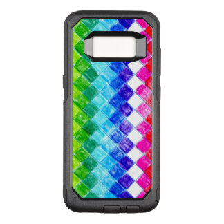Colored in Squares OtterBox Commuter Samsung Galaxy S8 Case