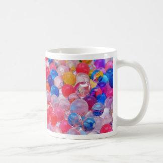 colored jelly balls texture coffee mug