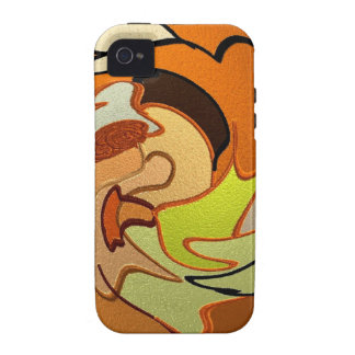 colored joy, abstract iPhone 4/4S cases