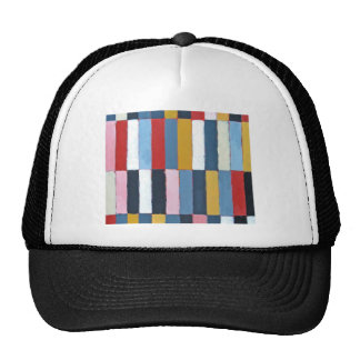Colored Keyboard (geometric expressionism pattern) Hat