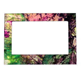 Colored Leaves Magnetic Frame