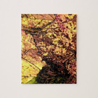 Colored Leaves Puzzle