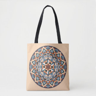 Colored Mandala 060517_3 Tote Bag