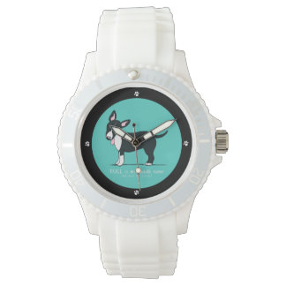 Colored Miniature Bull Terrier Middle Name Watch
