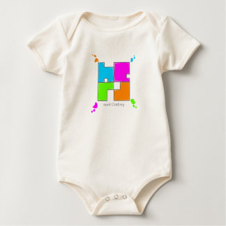 colored nerds baby bodysuits