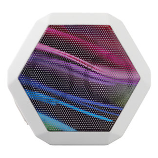 Colored Paper Abstract White Boombot Rex Bluetooth Speaker