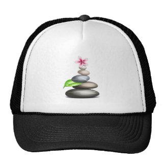 Colored pebbles cap