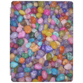 COLORED PEBBLES iPad COVER