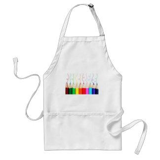 Colored Pencil Art Standard Apron