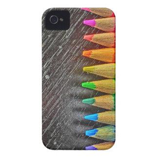 Colored pencil tips blackberry bold case