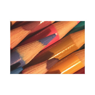 Colored Pencils #1 Canvas Print