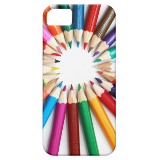 Colored Pencils Image for I Phone iPhone 5 Covers