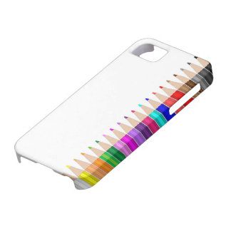 Colored pencils in a row barely there iPhone 5 case