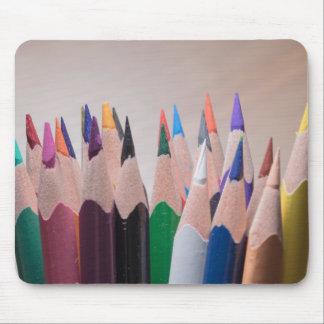 Colored pencils mousepad