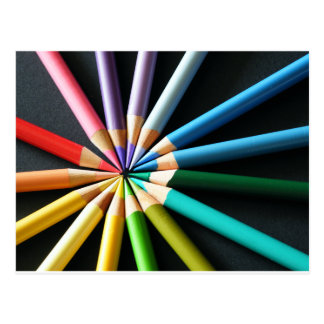 Colored Pencils - Postcard