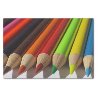 Colored Pencils Tissue Paper