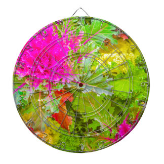 Colored Plants Photo Dartboard