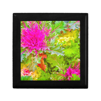 Colored Plants Photo Gift Box