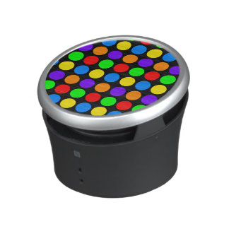 Colored Polka Dots Customizable Bluetooth Speaker