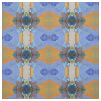 Colored Rocks Kaleidoscope Fabric