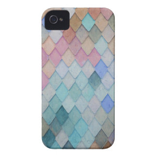 Colored Roof Tiles - PaintingZ iPhone 4 Cover
