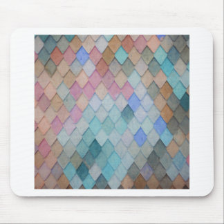 Colored Roof Tiles - PaintingZ Mouse Pad
