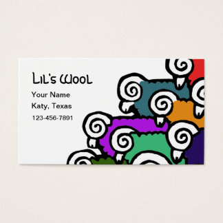 Colored Sheep Business Card