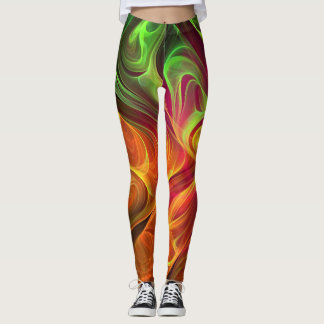 Colored Smoke Leggings