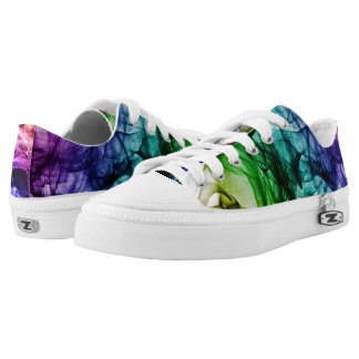 Colored Smoke Low-Top Sneakers