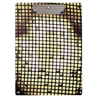 Colored Squares Clipboard