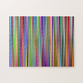 Colored Stripes Jigsaw Puzzle
