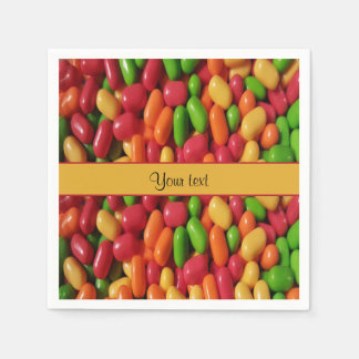 Colored Sweet Candy Disposable Napkins