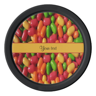 Colored Sweet Candy Set Of Poker Chips