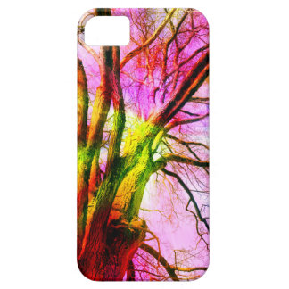 colored tree barely there iPhone 5 case