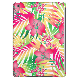 Colored tropical flowers