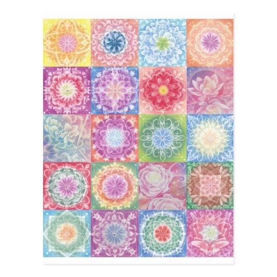 colorful 1 postcard