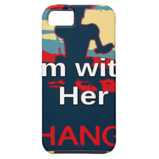 Colorful 2016 I am with her Vote for Hillary USA S Case For The iPhone 5