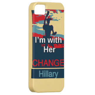Colorful 2016 I am with her Vote for Hillary USA S iPhone 5 Cases