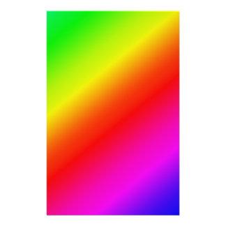 Colorful 2 Diagonal Stripes 14 Cm X 21.5 Cm Flyer