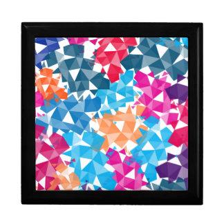 Colorful 3D geometric Shapes Gift Box