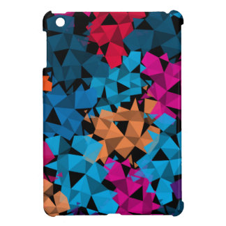 Colorful 3D geometric Shapes iPad Mini Cases