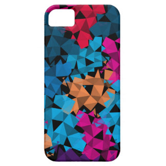Colorful 3D geometric Shapes iPhone 5 Cases