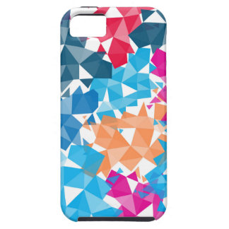 Colorful 3D geometric Shapes iPhone 5 Covers