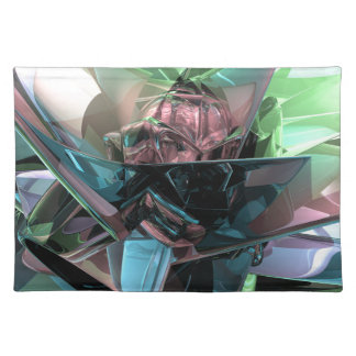 Colorful 3D Reflections Placemat