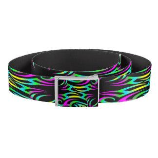 Colorful 3D Tattoo Belt