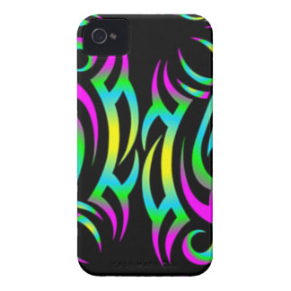 Colorful 3D Tattoo Blackberry Case