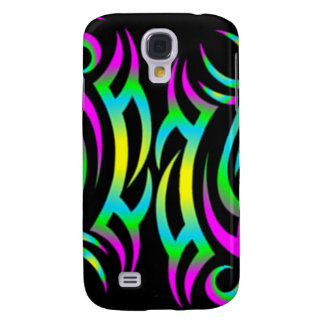 Colorful 3D Tattoo Pattern Samsung Galaxy S4 Case